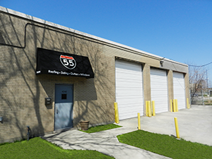 55 Building Supply Store Front